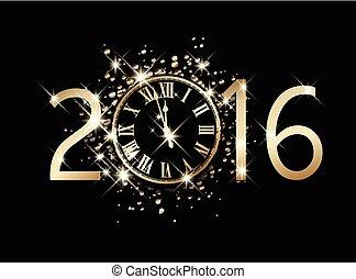 2016 New Year card.