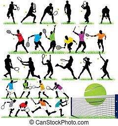 27 Tennis Players set
