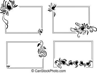 4 different Frames