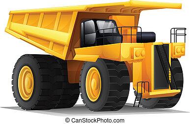 Illustration of a heavy hauler