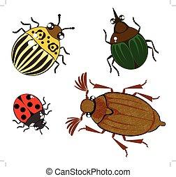 cute cartoon bugs