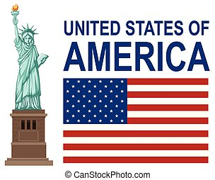 A Set of United States of America