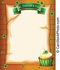 A stationery for St. Patrick's day