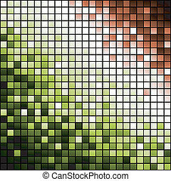 Abstract background made of shiny mosaic pattern, vector eps8 format