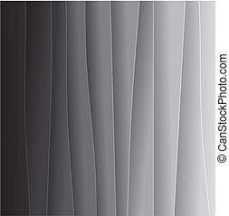 abstract background of black & white paper sheets - vector graphic. This backdrop graphic consists of tones of black and grey from black on one end to very light grey or off-white on the other