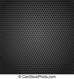 Abstract black metal background, vector eps10 illustration