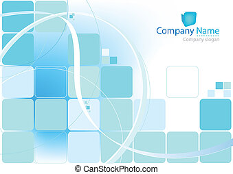 Abstract blue background for your prints