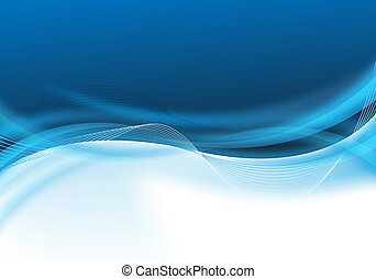 abstract blue business design