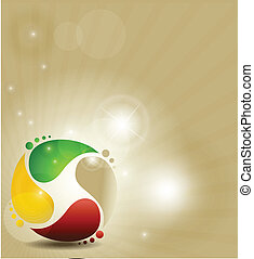 colorful symbol