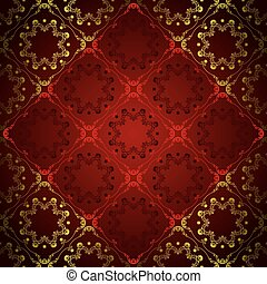 Abstract Floral Luxury Backgroun