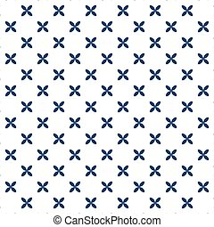 abstract geometric seamless pattern with blue color. wallpaper decoration background