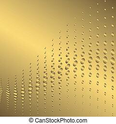 Abstract golden background (vector)