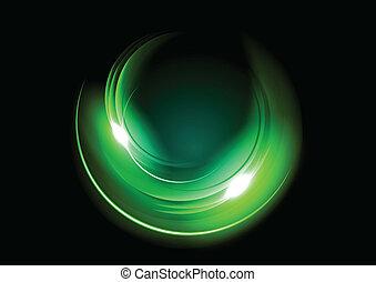 abstract green dark