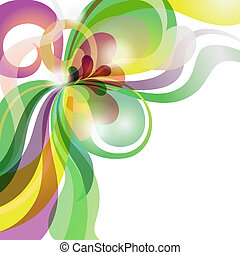 Abstract shiny colourful love theme background with stripes and hearts