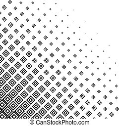 Vector illustration of abstract monochrome halftone background