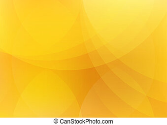 Abstract Orange and Yellow Background Wallpaper