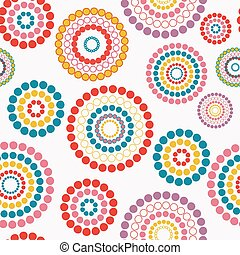 Abstract seamless background pattern. Vector illustration