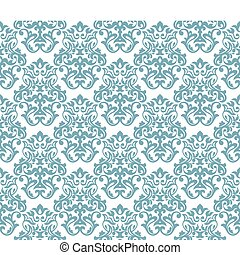 abstract seamless damask background wallpaper vector illustration