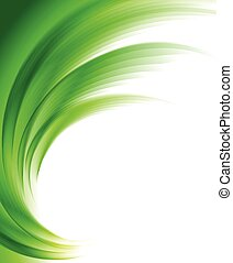 Abstract soft background brochure in green color