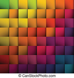 Abstract squares background. Vector, EPS10
