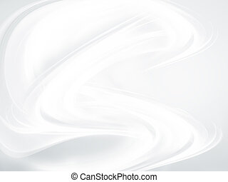 abstract white background with smooth lines