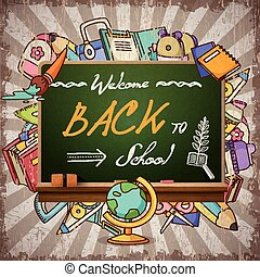 adorable back to school poster
