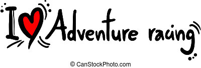 Adventure racing love