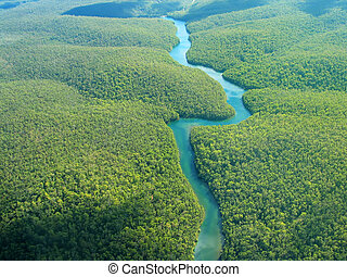 Aerial Photography - The River