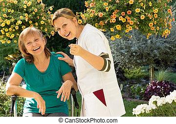 Aged care service