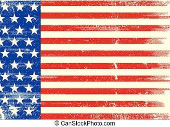 American background flag