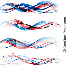 American Independence Day Patriotic background