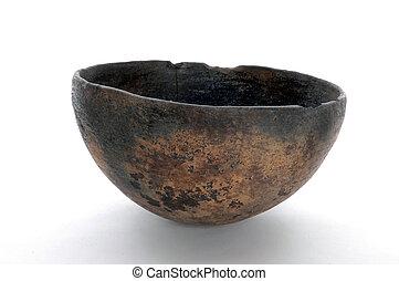An ancient bowl.