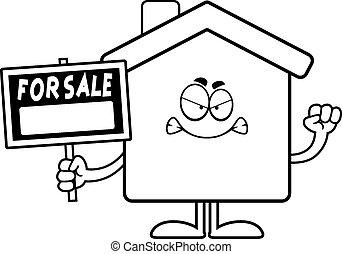 Angry Cartoon Home Sale
