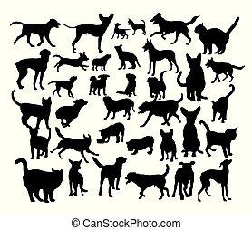 Animal Pet Silhouettes