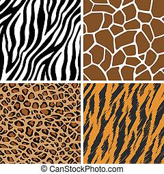 Animal Set Seamless Pattern