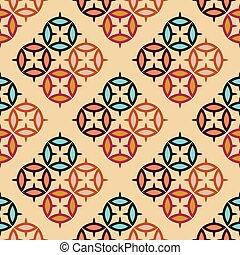 Arabic style seamless pattern