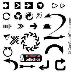 many different arrows a great design template