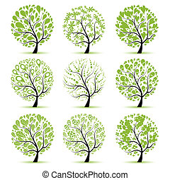 Art tree collection for your design