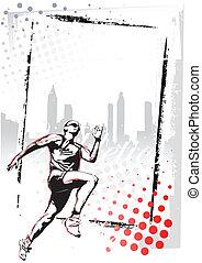 athletics poster