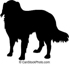 Australian Shepherd silhouette