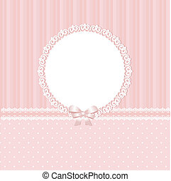 Baby pink vector background