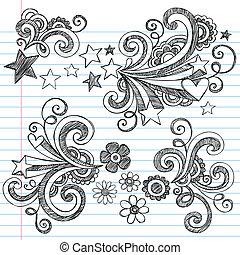 Back to School Notebook Doodles