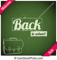 Back to school poster.