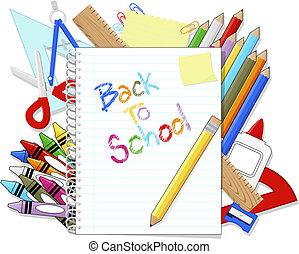 back to school supplies items