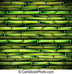 Background of bamboo