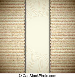 Background with cardboard