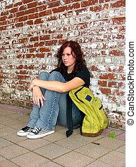 backpack street teen