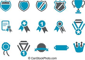Badges Icon Set
