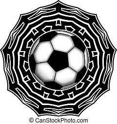 ball on pattern