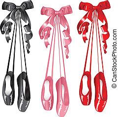 Ballet slippers set